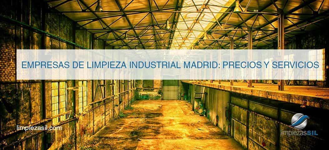 empresas de limpieza industrial