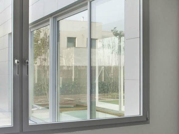 Limpiar ventanas aluminio