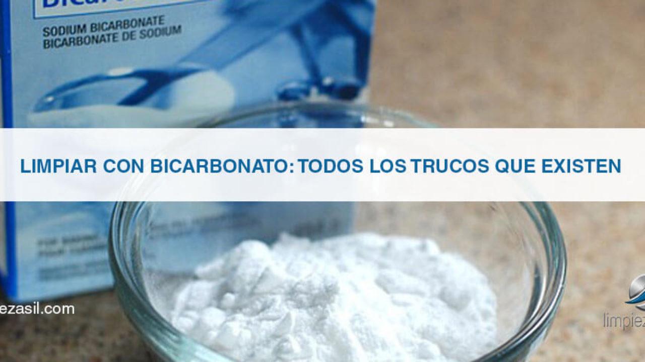 Limpiar con Bicarbonato: TODOS los Trucos que existen