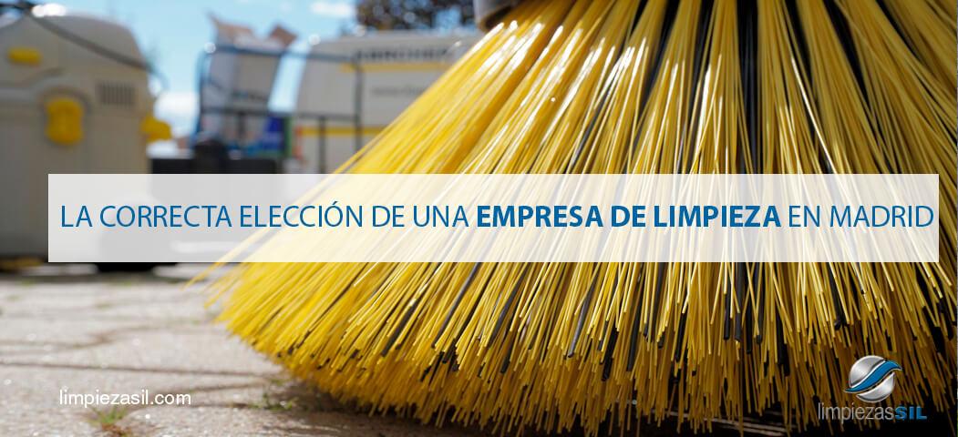 La correcta elecci n de una empresa de limpieza en madrid for Empresas de limpieza en castellon