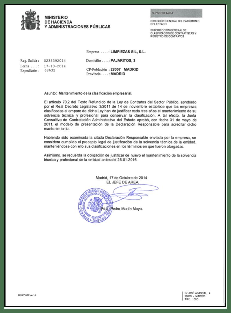clasificación-empresarial