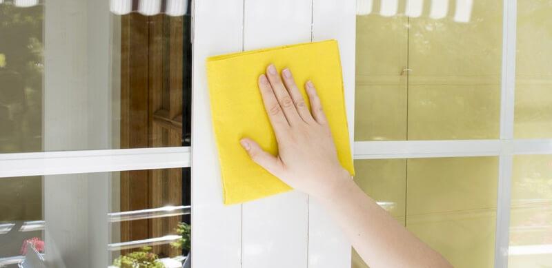 limpiar ventana aluminio