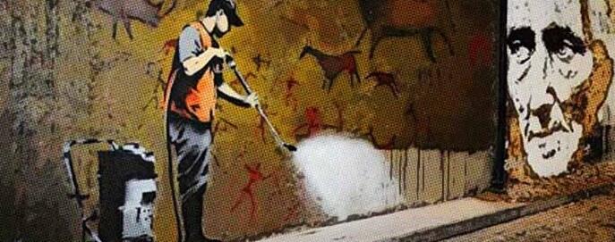 limpieza de paredes y graffitis