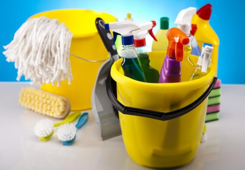 herramientas de limpieza
