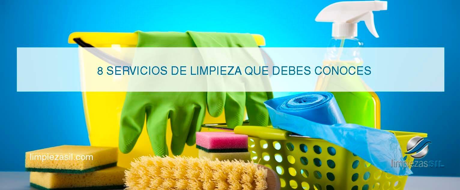 Servicios Limpieza: Características y definiciones de los más ...