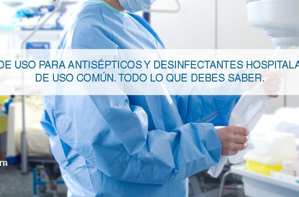 desinfección de hospitales