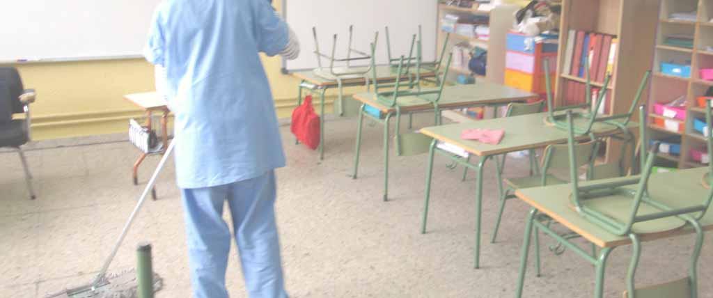 limpieza de colegios en profundidad