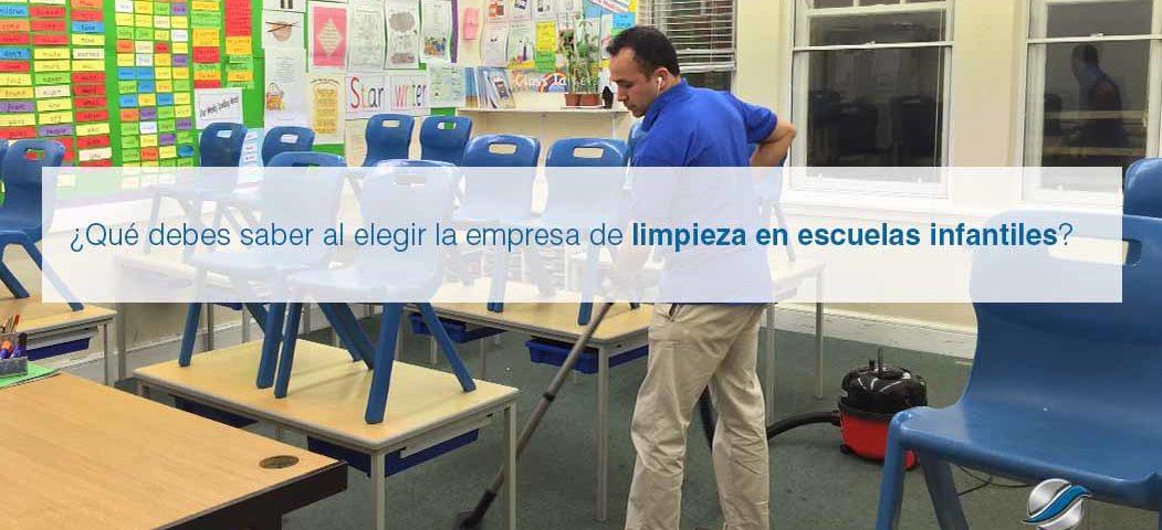mantenimiento de colegios