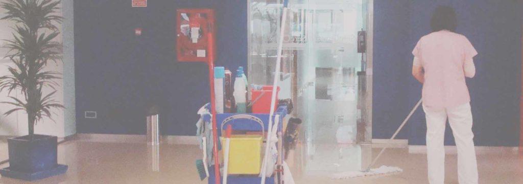 centros comerciales limpieza