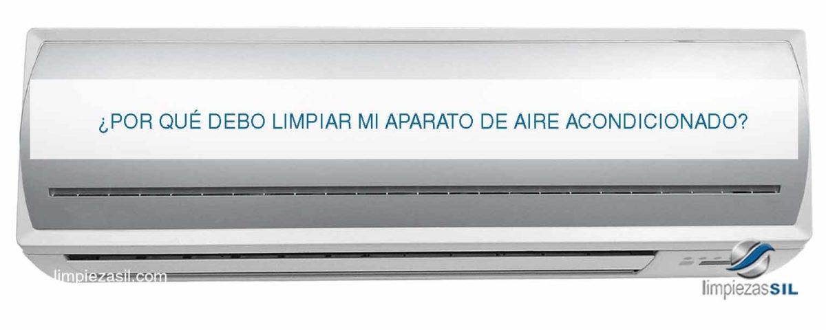 limpiar aparato aire acondicionado