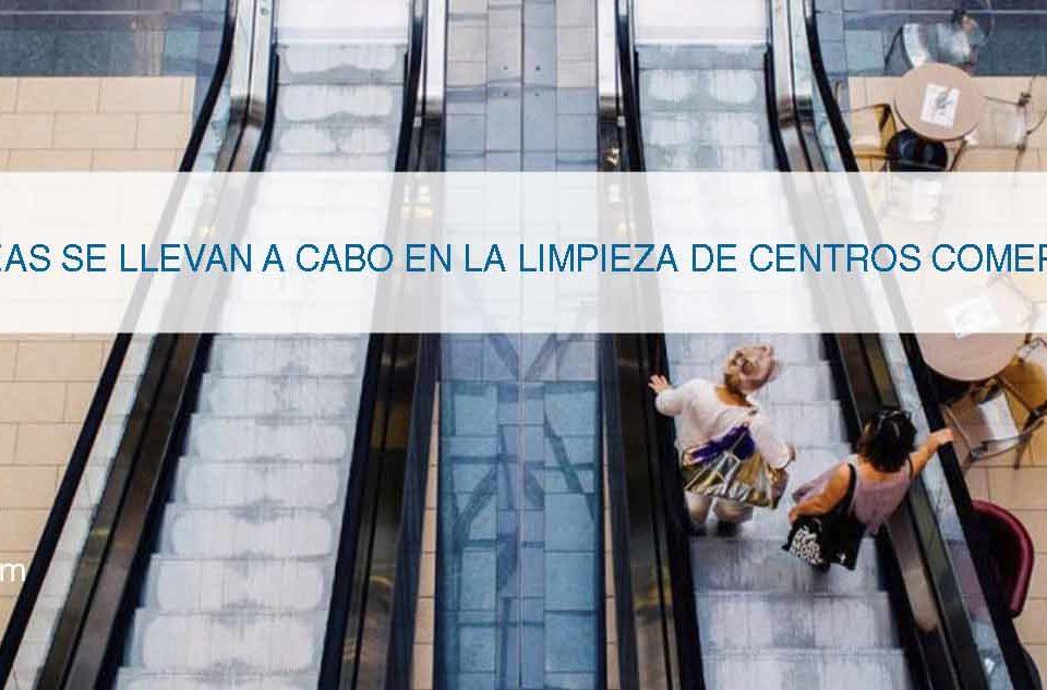 servicio de limpieza en centros comerciales