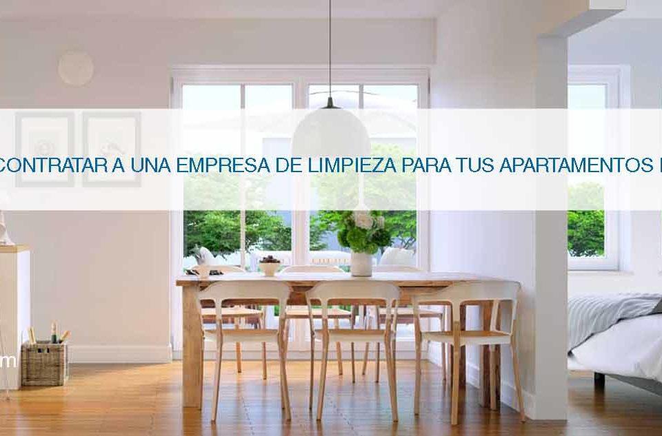 servicio limpieza apartamento alquiler