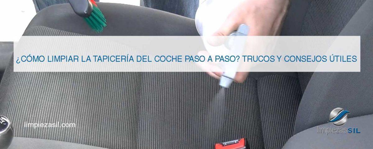 tapicería de coches limpieza