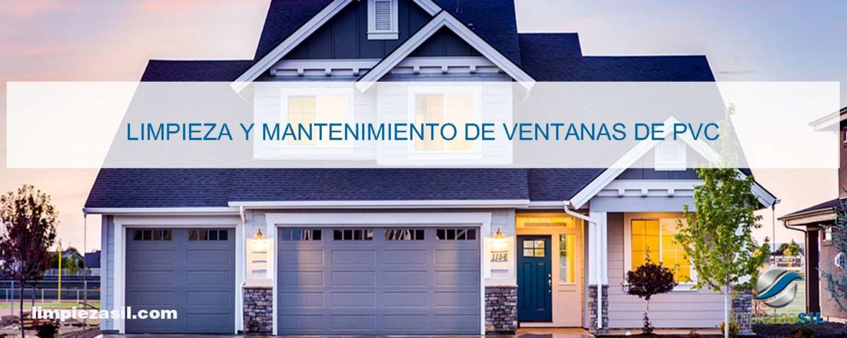 mantenimiento de ventanas de PVC