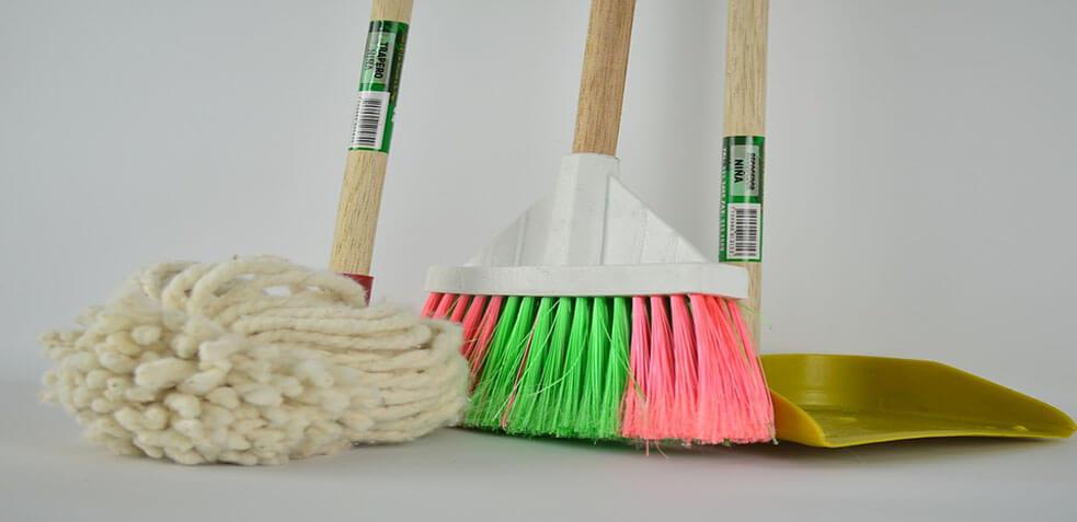 materiales de limpieza para oficina