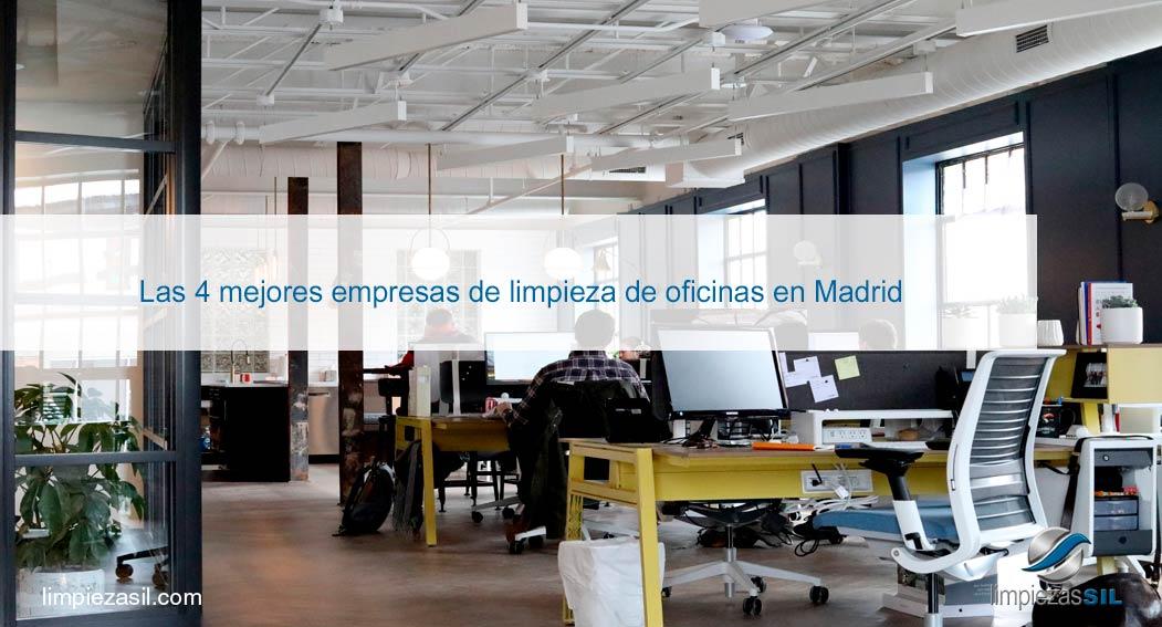 Las 4 mejores empresas de limpieza de oficinas en madrid for Oficinas envialia madrid
