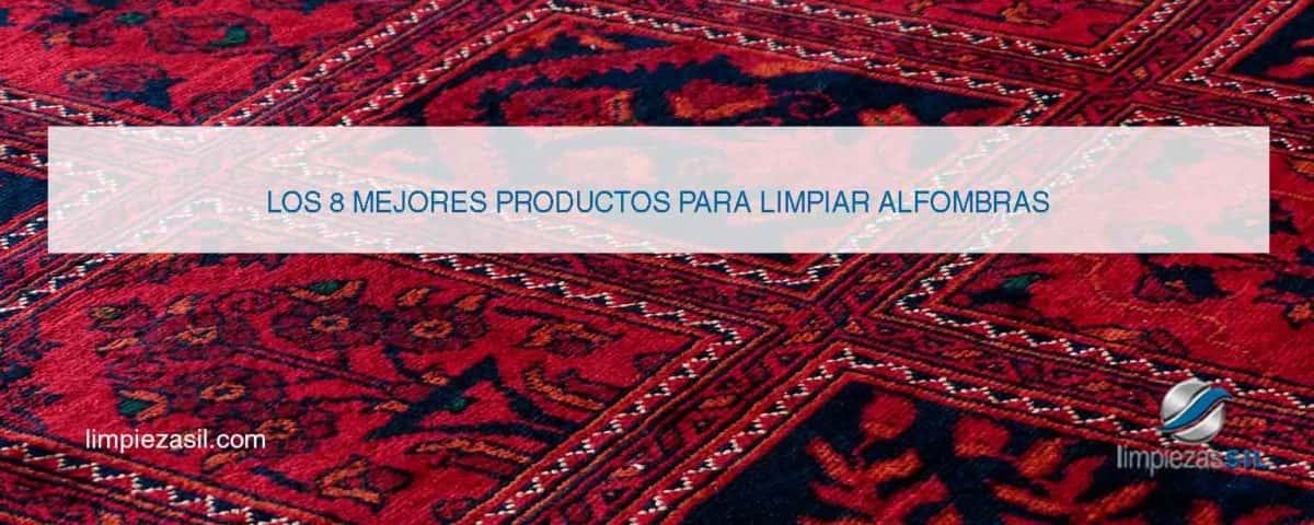 productos para limpiar alfombras