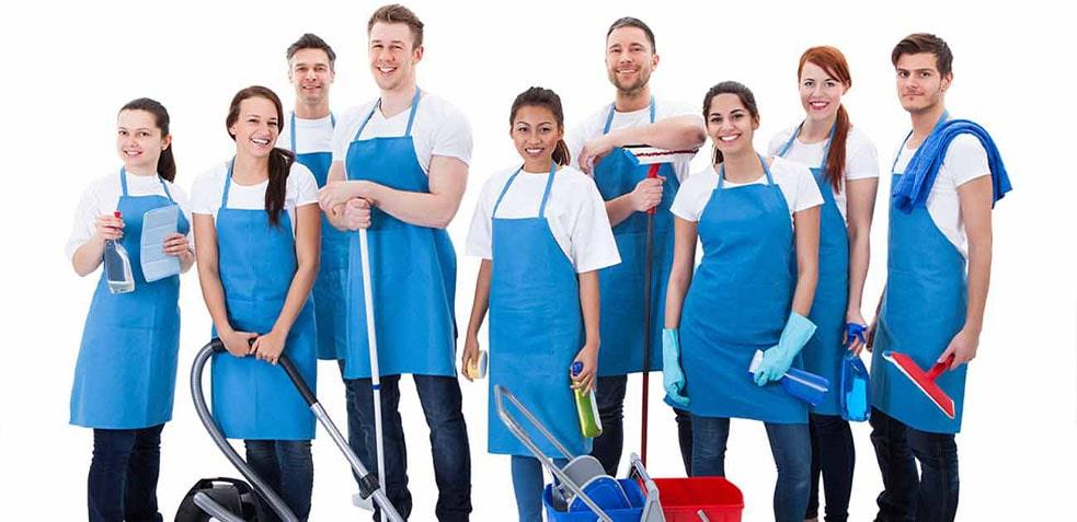 Personal de limpieza altamente capacitado
