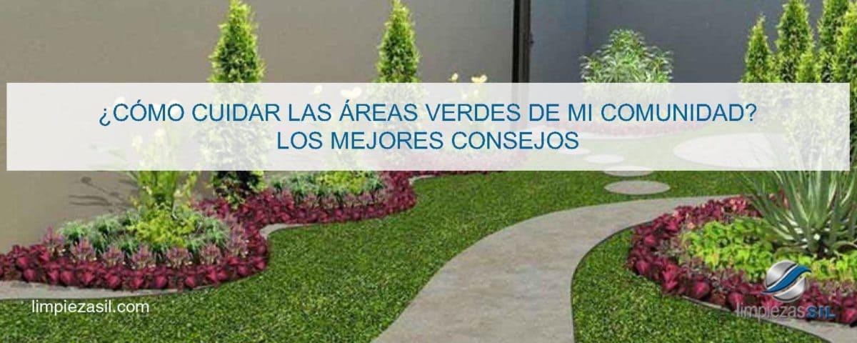 como cuidar las areas verdes