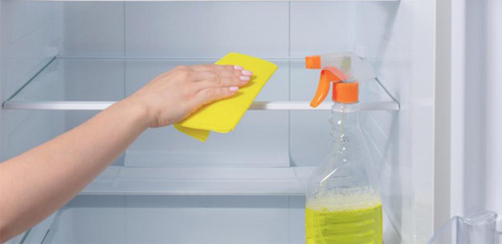 como limpiar la nevera