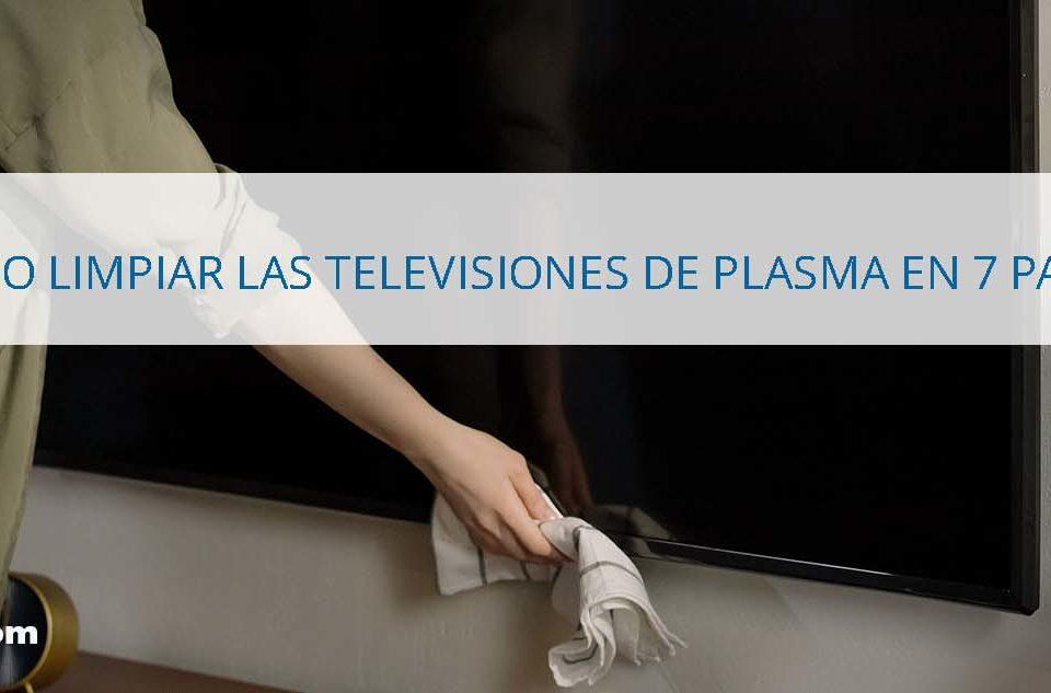 Cómo limpiar las televisiones de plasma