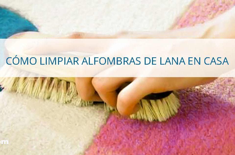 Cómo-limpiar-alfombras-de-lana