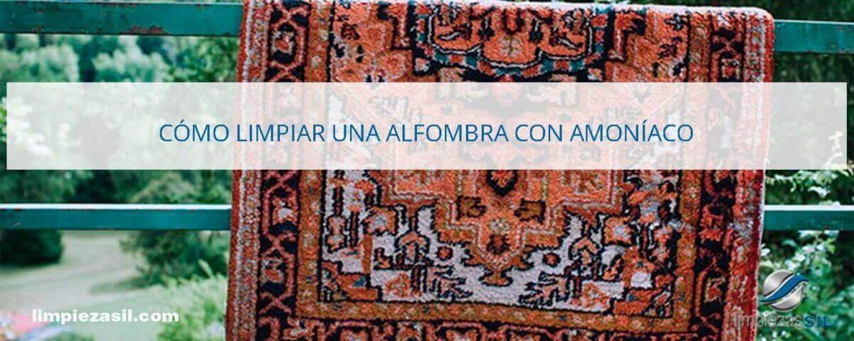 Cómo-limpiar-una-alfombra-con-amoníaco
